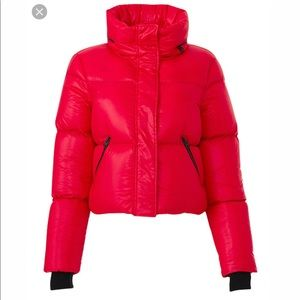 Mackage short red puffer jacket